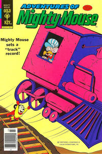Cover Thumbnail for Adventures of Mighty Mouse (Western, 1979 series) #166