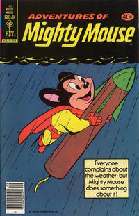 Cover Thumbnail for Adventures of Mighty Mouse (Western, 1979 series) #169 [Gold Key]