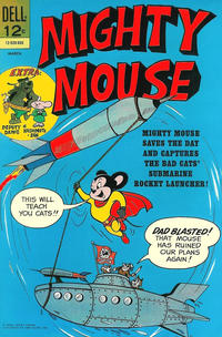 Cover Thumbnail for Mighty Mouse (Dell, 1966 series) #166