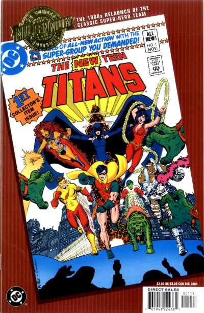 Cover for Millennium Edition: The New Teen Titans 1 (DC, 2000 series)  [Direct Sales]