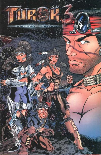 Cover for Turok 3: Shadow of Oblivion (Acclaim / Valiant, 2000 series) #1