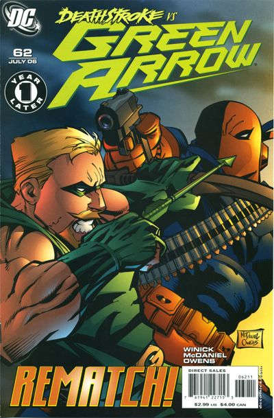 Cover for Green Arrow (DC, 2001 series) #62