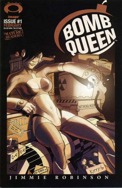 Cover for Bomb Queen (Image, 2006 series) #1