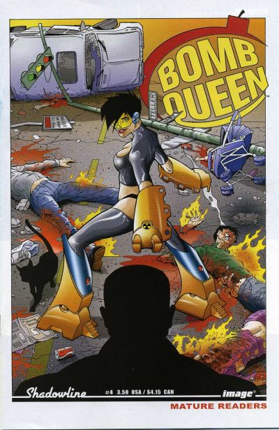 Cover for Bomb Queen (Image, 2006 series) #4