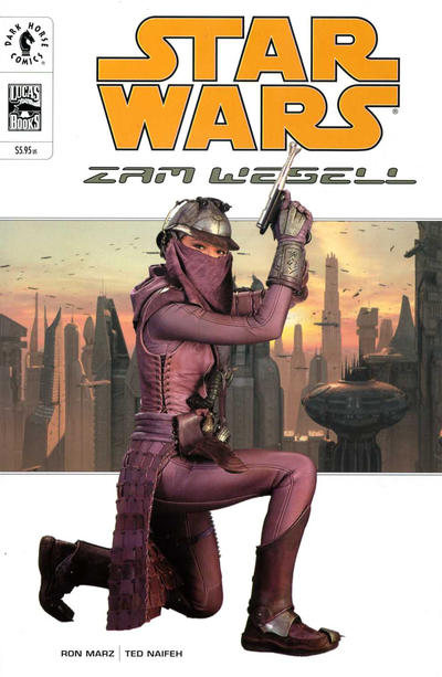 Cover for Star Wars: Zam Wesell (Dark Horse, 2002 series)