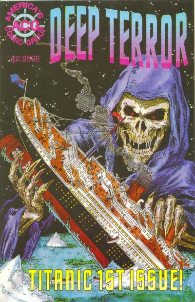 Cover for Deep Terror (Avalon Communications, 1998 series) #1