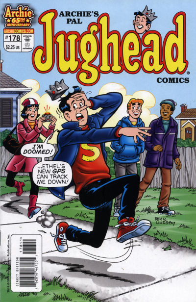 Cover for Archie's Pal Jughead Comics (Archie, 1993 series) #178