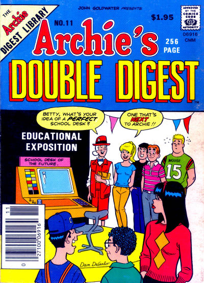 Cover for Archie's Double Digest Magazine (Archie, 1984 series) #11