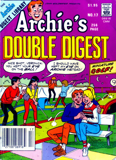 Cover for Archie's Double Digest Magazine (Archie, 1984 series) #17