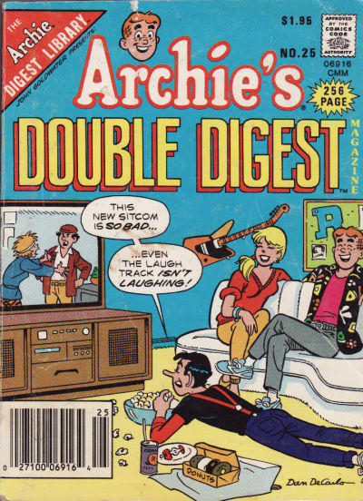 Cover for Archie's Double Digest Magazine (Archie, 1984 series) #25