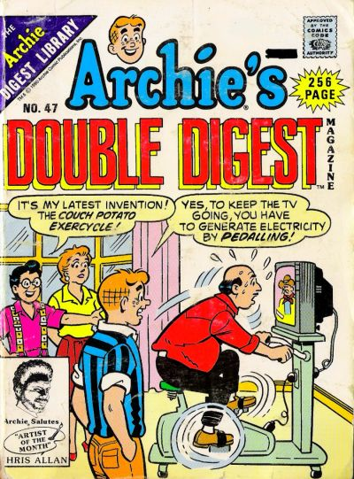 Cover for Archie's Double Digest Magazine (Archie, 1984 series) #47