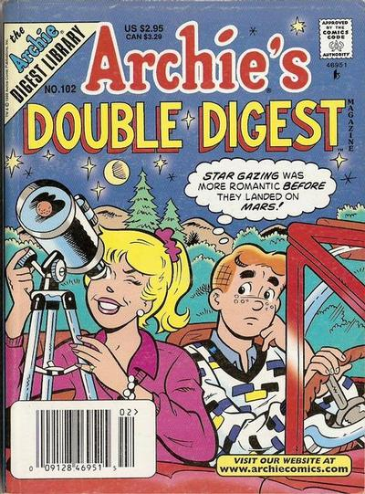 Cover for Archie's Double Digest Magazine (Archie, 1984 series) #102