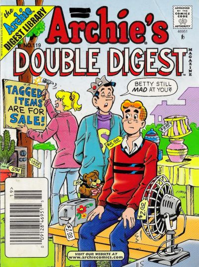 Cover for Archie's Double Digest Magazine (Archie, 1984 series) #119