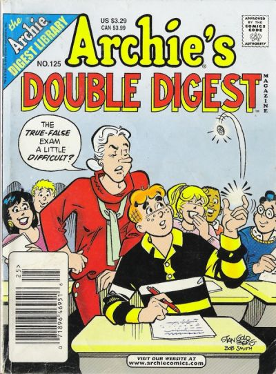Cover for Archie's Double Digest Magazine (Archie, 1984 series) #125
