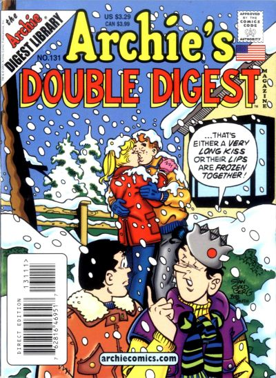 Cover for Archie's Double Digest Magazine (Archie, 1984 series) #131