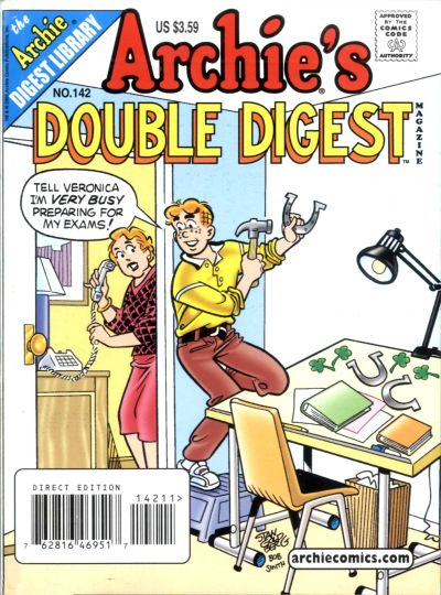 Cover for Archie's Double Digest Magazine (Archie, 1984 series) #142