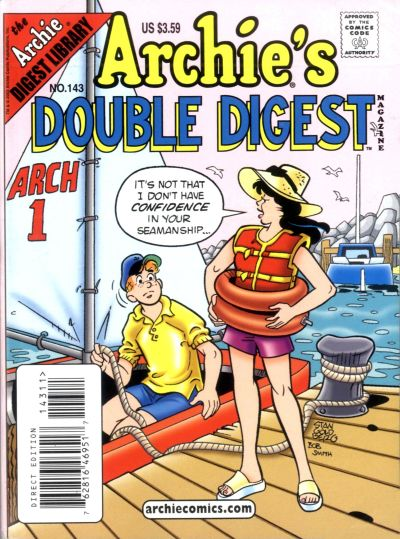 Cover for Archie's Double Digest Magazine (Archie, 1984 series) #143