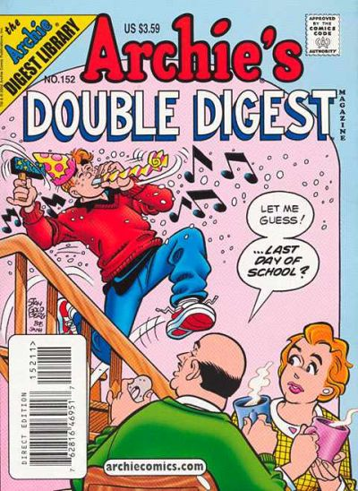 Cover for Archie's Double Digest Magazine (Archie, 1984 series) #152