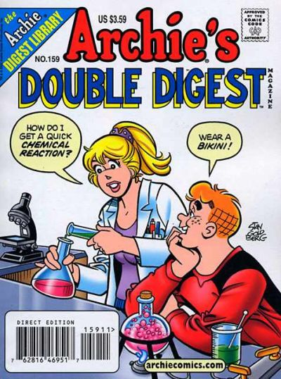 Cover for Archie's Double Digest Magazine (Archie, 1984 series) #159