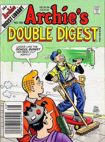Cover for Archie's Double Digest Magazine (Archie, 1984 series) #166 [Direct]