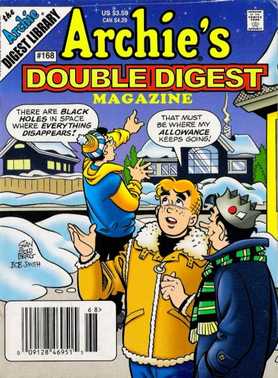Cover for Archie's Double Digest Magazine (Archie, 1984 series) #168