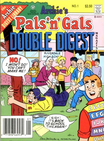 Cover for Archie's Pals 'n' Gals Double Digest Magazine (Archie, 1992 series) #1