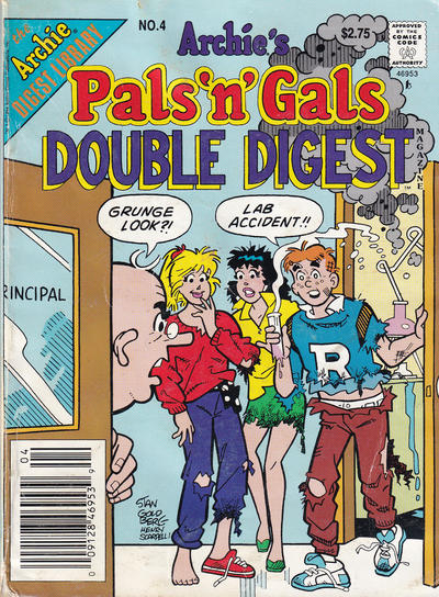 Cover for Archie's Pals 'n' Gals Double Digest Magazine (Archie, 1992 series) #4