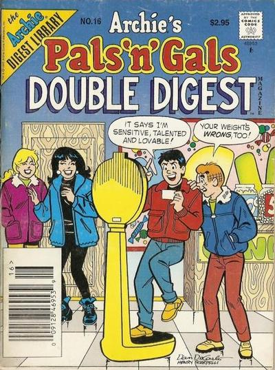 Cover for Archie's Pals 'n' Gals Double Digest Magazine (Archie, 1992 series) #16