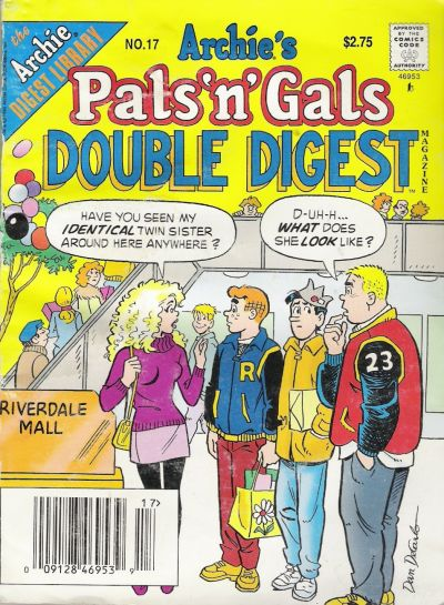 Cover for Archie's Pals 'n' Gals Double Digest Magazine (Archie, 1992 series) #17