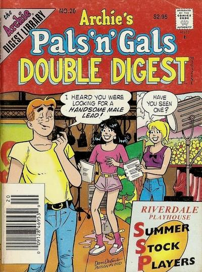 Cover for Archie's Pals 'n' Gals Double Digest Magazine (Archie, 1992 series) #20