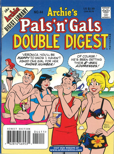 Cover for Archie's Pals 'n' Gals Double Digest Magazine (Archie, 1992 series) #44