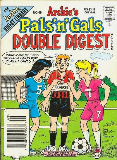 Cover for Archie's Pals 'n' Gals Double Digest Magazine (Archie, 1992 series) #49