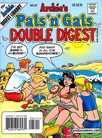 Cover for Archie's Pals 'n' Gals Double Digest Magazine (Archie, 1992 series) #87