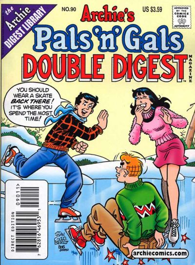 Cover for Archie's Pals 'n' Gals Double Digest Magazine (Archie, 1992 series) #90