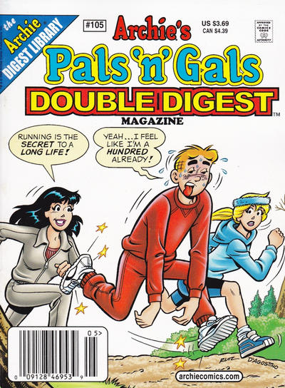 Cover for Archie's Pals 'n' Gals Double Digest Magazine (Archie, 1992 series) #105