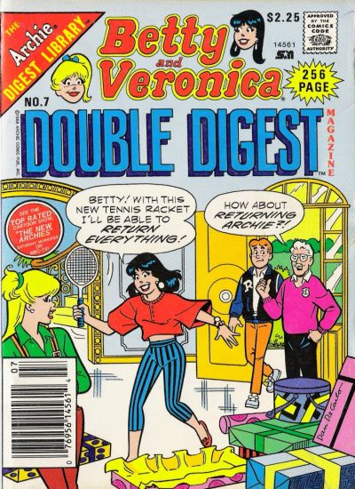 Cover for Betty and Veronica Double Digest Magazine (Archie, 1987 series) #7