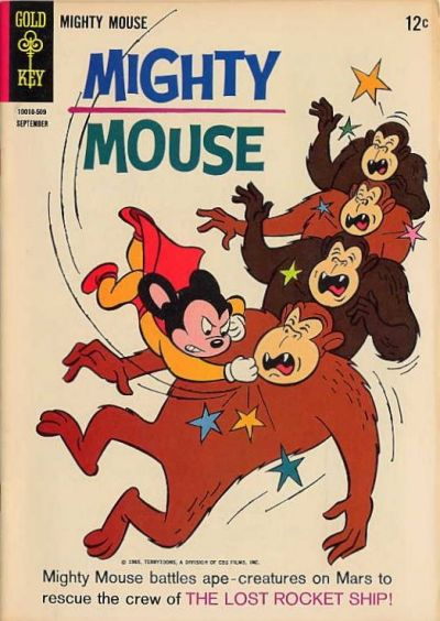 Cover for Mighty Mouse (Western, 1964 series) #165