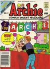 Cover for Archie Comics Digest (Archie, 1973 series) #67