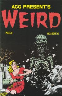 Cover Thumbnail for Weird (Avalon Communications, 1999 series) #1