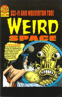 Cover Thumbnail for Weird Space (Avalon Communications, 2000 series) #2