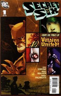 Cover Thumbnail for Secret Six (DC, 2006 series) #1