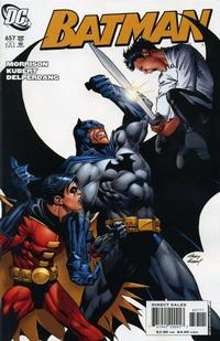 Cover Thumbnail for Batman (DC, 1940 series) #657
