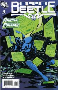 Cover Thumbnail for The Blue Beetle (DC, 2006 series) #4