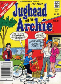 Cover for Jughead with Archie Digest (Archie, 1974 series) #71