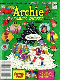 Cover Thumbnail for Archie Comics Digest (Archie, 1973 series) #40 [Newsstand]