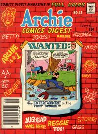 Cover Thumbnail for Archie Comics Digest (Archie, 1973 series) #43