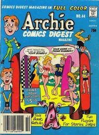 Cover Thumbnail for Archie Comics Digest (Archie, 1973 series) #44