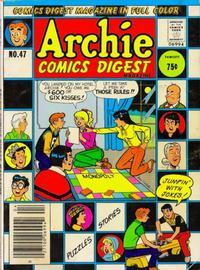 Cover Thumbnail for Archie Comics Digest (Archie, 1973 series) #47