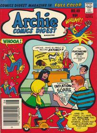 Cover Thumbnail for Archie Comics Digest (Archie, 1973 series) #49