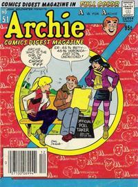 Cover Thumbnail for Archie Comics Digest (Archie, 1973 series) #51